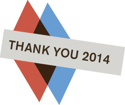 Thank you 2014